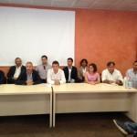 Il Consiglio nella conferenza stampa di presentazione del 1 settembre 2017