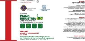 Locandina seminario industria 4.0