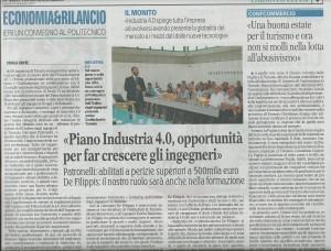 Gazzetta del Mezzogiorno 15-sett-2017