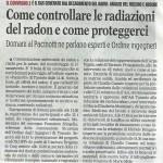 Gazzetta Mezzogiorno 2 novemmbre 2017
