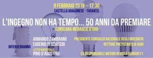 Cerimonia medaglie d'oro 2018 @ Castello Aragonese | Taranto | Puglia | Italia