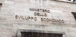La sede del Mise, Roma