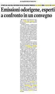Gazzetta del Mezzogiorno del 19 settembre 2018