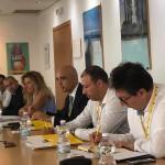 L'incontro del 3 agosto 2018 presso la sede Eni di Taranto